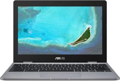 ASUS Chromebook Celeron Dual Core - (4 GB/32 GB EMMC Storage/Chrome OS) C223NA-GJ0074 Thin and Light Laptop(11.6 inch, Grey, 1...