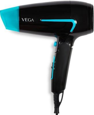 VEGA VHDH-24 Hair Dryer(1600 W, Black)