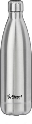 Flipkart SmartBuy Cola Stainless Steel Insulated 8 Hours Hot and Cold Flask 1000 ml Flask(Pack of 1, Silver, Steel)
