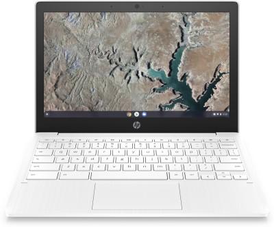 HP Chromebook MT8183 - (4 GB/64 GB EMMC Storage/Chrome OS) 11a-na0006MU Chromebook(11.6 inch, Snow White, 1.07 Kg)