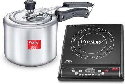 Prestige 41525 Induction Cooktop(Black, Jog Dial)