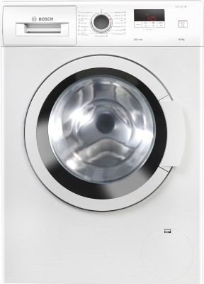 BOSCH 6 kg Fully Automatic Front Load with In-built Heater White(WLJ16061IN)