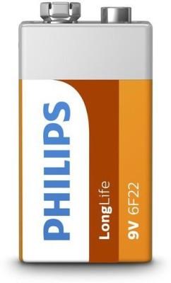 PHILIPS 9V nine-volt Zinc Carbon  Battery