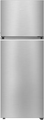 Haier 375 L Frost Free Double Door 3 Star Convertible Refrigerator(Inox Steel, HEF-39TSS)