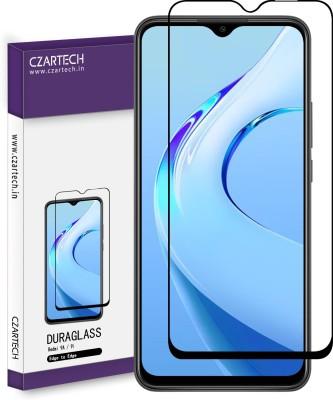 CZARTECH Edge To Edge Tempered Glass for Redmi 9i, Mi Redmi 9A, 9, C3, Poco M2(Pack of 1)
