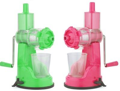 YAKEEN PRO COMBO JUICER 786 0 Juicer (2 Jars, Green, Pink)