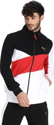 PUMA Full Sleeve Colorblock Men Jacket