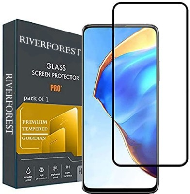 RiverForest Edge To Edge Tempered Glass for Samsung a71, Samsung Galaxy F62, Samsung S10 Lite, Samsung Note 10 lite, Samsung Galaxy M62, Samsung Galaxy M51, Samsung Galaxy A81(Pack of 1)