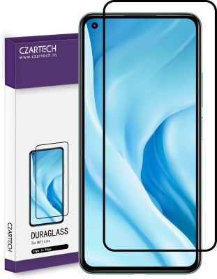 CZARTECH Edge To Edge Tempered Glass for Mi 11 Lite(Pack of 1)