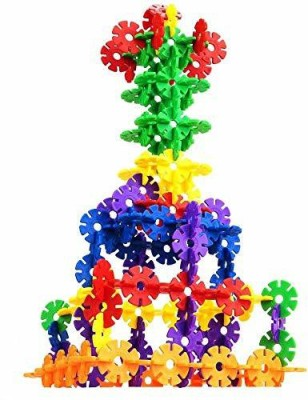 VEDANSHI Construction Snowflakes Blocks Multicolor VEDANSHI Educational Toys