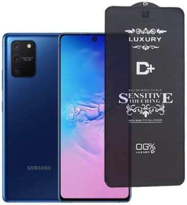 A-Allin1 Edge To Edge Tempered Glass for Samsung Galaxy A91, (Premium Luxury D+ Sensitive Touching Edge to Edge Tempered Glass With Camera Open Cut)(Pack of 1)