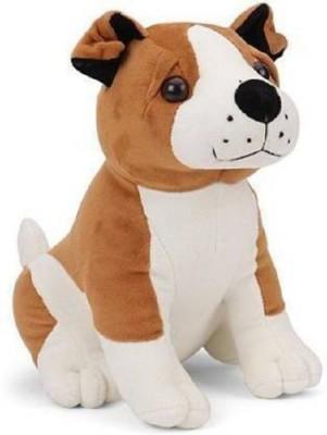 Anubhi Bull Dog Puppy Soft Plush Toy 25cm    25 cm Multicolor