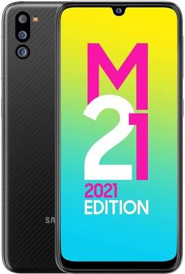SAMSUNG M21 2021 Edition (Charcoal Black, 128 GB)(6 GB RAM)