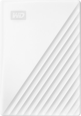 WD 5 TB External Hard Disk Drive with 5 TB Cloud Storage(White)