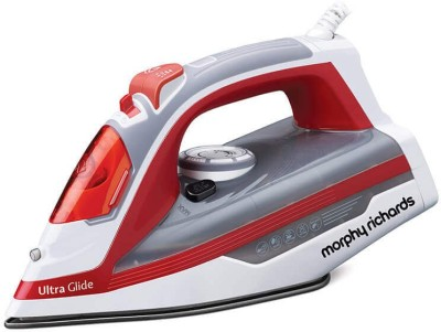 Morphy Richards 1600W automatic and Self Clean 1600 W Steam Iron(Red, White)