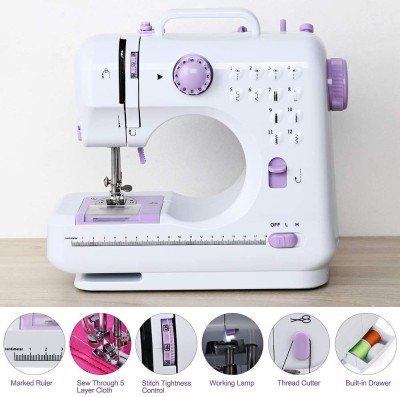 IBS HEAVY DUTY Portable mini household Handheld 12 Built-In Stitches Electric Sewing Machine( Built-in Stitches 1)
