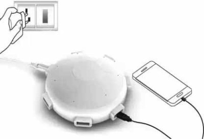 Wanzhow 6 port USB charger also comes with Overheat, overvoltage, and overcurrent protection. USB Adapter White