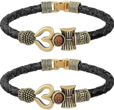 Collection Route Leather Bracelet(Pack of 2)