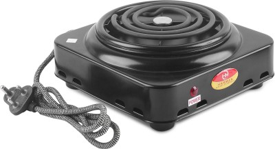 HARMAN INDUSTRIES Electric 1000W G-coil Mini Hot Plate   Radiant Cook Stove   Grey Radiant Cooktop(Grey, Push Button)