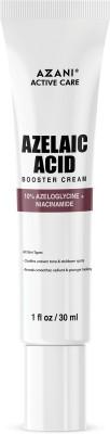 Azani Active Care Azelaic Acid Booster Cream | Spotless, Acne-free, Hydrated and Healthy Skin | 10% Azelaic Acid & Niacinamide...