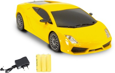 Miss & Chief 4 Channel Mini Racing RC Car(Yellow)