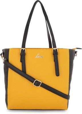 LAVIE - HYER761096N3 Women Yellow Tote