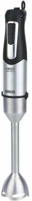 Inalsa by Inalsa Robot 1000 Pro S 1000 W Hand Blender(Black, Siver)