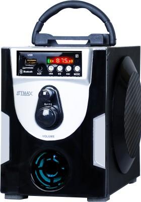 etmax NANO STYLE 30W ET-1515 30 W Bluetooth Home Theatre(Black, Silver, Stereo Channel)