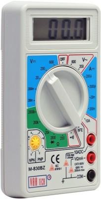 VAR TECH M 830 BZ, 3½ Digits (2000 Counts), 600 V DC/AC Digital Multimeter(2000 Counts)
