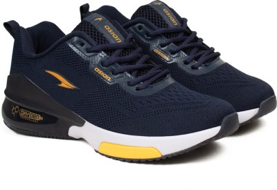 ASIAN Oxygen-01 navy Running shoes dual capsule technology for boys | sports shoes for men | Latest Stylish Casual sneakers for men | Lace up lightweight shoes for running, walking, gym, trekking, hiking & party Running Shoes For Men(Blue, Blue)