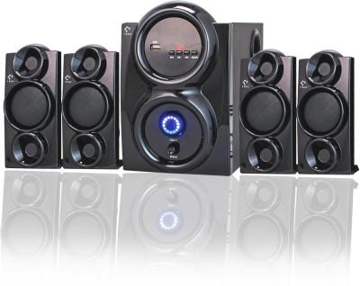 I Kall IK411 - 4.1 CHANNEL - BT 70 W Bluetooth Home Theatre 70 W Bluetooth Home Theatre(Black, 4.1 Channel)
