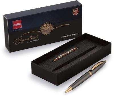 Cello Signature Pen Set(1 Pen with Rakhi)