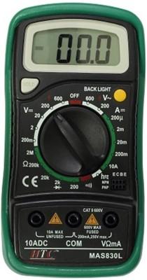HTC 830L Digital Multimeter(Black, Green 2000 Counts)