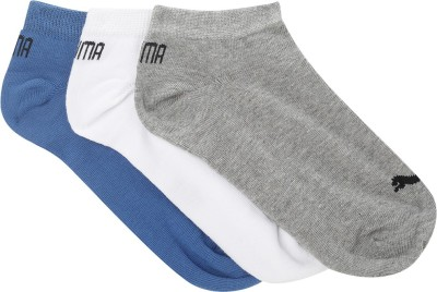 PUMA Men & Women Solid Ankle Length(Pack of 3)