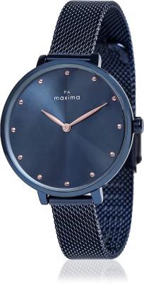 MAXIMA Attivo Blue Collection Attivo Collection Analog Watch - For Women