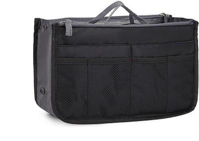 SHAFIRE Black Nylon Bag Oraganizer Waterproof Multipurpose Bag Black, 4 L SHAFIRE Luggage   Travel