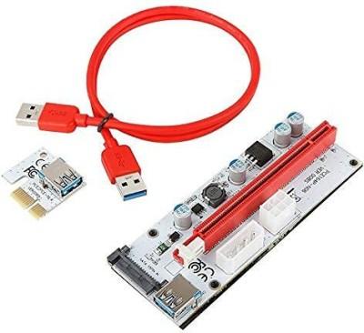 Xsentuals NVIDIA PCI-E Graphics Card 008s VER008S 3 In 1 Molex 4Pin SATA 6PIN PCIE PCI-E PCI Express Adapter 1X...