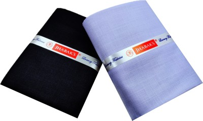 JHABAK'S Cotton Solid Shirt & Trouser Fabric(Unstitched)