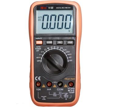 VAR TECH V 68 3 3/4 Digits (4000 Counts), TRUE RMS, 1000 V DC / 750 V AC, Auto/Manual Ranging Digital Multimeter(Black, Orange 4000 Counts)