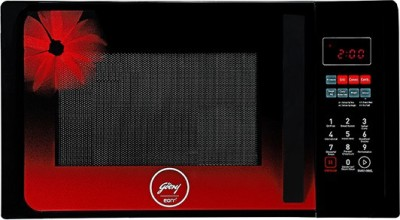 Godrej 23 L Convection Microwave Oven(GME 723 CF3 PM Red Daisy, GREEN)
