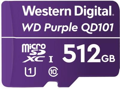 Western Digital QD101 512 GB MicroSD Card Class 10 100 Mbps Memory Card