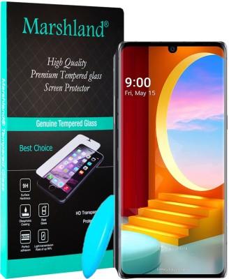 MARSHLAND Tempered Glass Guard for LG Velvet(Pack of 1)