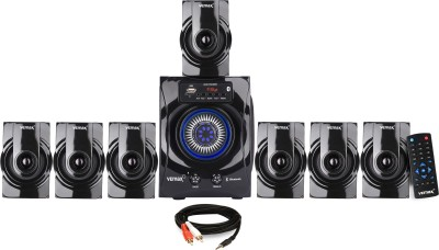 Vemax Venue 7.1 Bluetooth Multimedia Home Theater System with FM, AUX, USB, Bass & Treble Control (Black) 45 W Bluetooth...