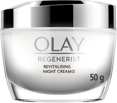 OLAY Night Cream: Regenerist Revitalising Night Moisturiser(50 g)