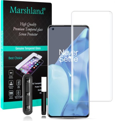 MARSHLAND Tempered Glass Guard for Oneplus 9 Pro(Pack of 1)