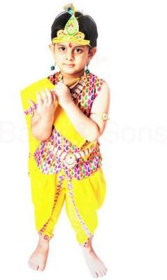 Baby & Sons Krishna Kids Costume Wear