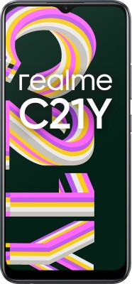 realme C21Y (Cross Black, 64 GB)(4 GB RAM)