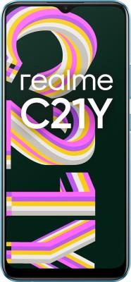 realme C21Y (Cross Blue, 64 GB)(4 GB RAM)