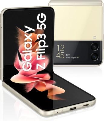 SAMSUNG Galaxy Z Flip3 5G (Cream, 128 GB)(8 GB RAM)