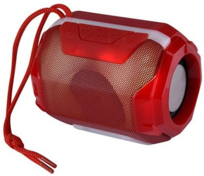 FRAONY TOP BRAND Multimedia Super Bass |Powerful bass| Splashproof Rock Beat Blast Stereo Sound Quality | Mini Home Theatre| Led Colour Changing Lights|AUX Supported Dynamic Sound Effect 5 W Bluetooth Speaker(Red, Stereo Channel)